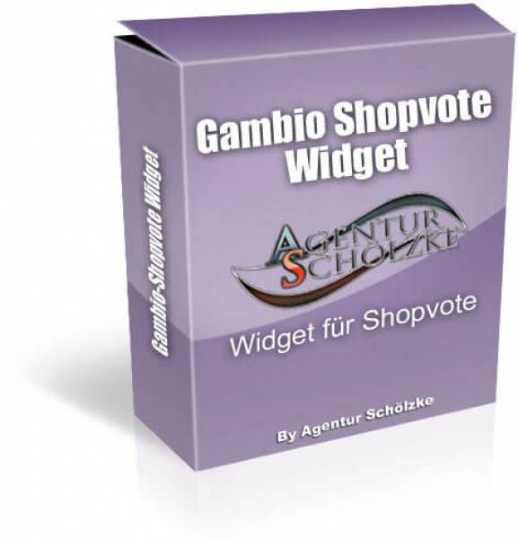 Shopvote Widget Plugin für Gambio